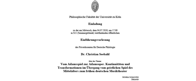protokoll seminar uni